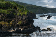 Побережье Мауи Стоковые Фотографии RF