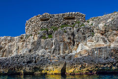 Побережье Мальты Стоковые Фото