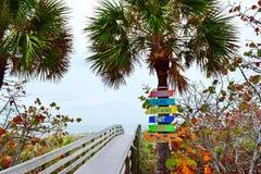 Побережье мексиканского залива Флориды Стоковые Фото