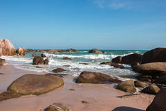 Побережье моря южного Китая Стоковое фото RF