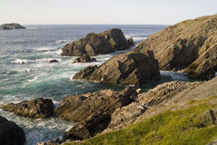 Побережье Ньюфаундленда Стоковое Изображение RF
