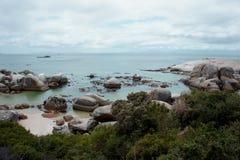 Побережье океана Стоковая Фотография