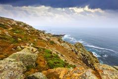 Побережье океана Стоковое Фото