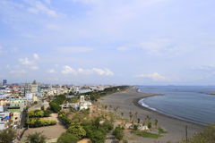 Побережье острова cijin Стоковое Фото