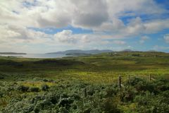 Побережье острова Skye стоковое изображение
