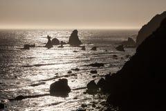 Побережье 5 северной калифорния Стоковое Изображение