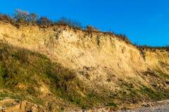 Побережье скалы Ahrenshoop Стоковые Изображения RF