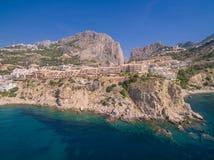 Побережье Средиземного моря стоковое изображение rf