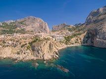 Побережье Средиземного моря стоковое фото