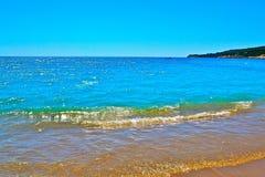 Побережье Средиземного моря Стоковые Фото