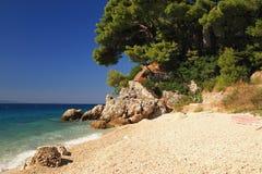 Побережье Хорватии стоковое изображение rf