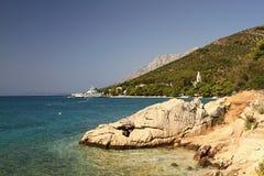 Побережье Хорватии стоковое изображение