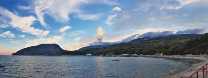 Побережье Чёрного моря Стоковые Фотографии RF