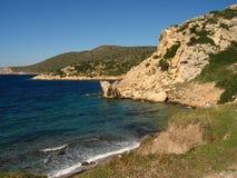 Побережье Эгейского моря Турции Стоковое Изображение RF