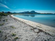 Побережье Andenes, Норвегия Стоковые Изображения RF