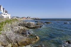 Побережье Batz-sur-Mer в Франции Стоковая Фотография