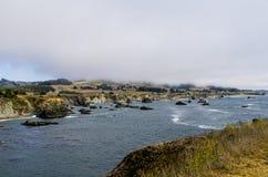 Побережье Bodega Стоковое Изображение
