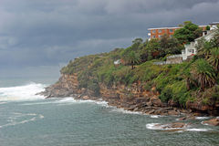 Побережье Coogee, Сидней, Австралия Стоковое Изображение RF