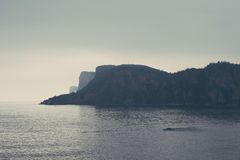 Побережье Gaspésie Стоковая Фотография RF