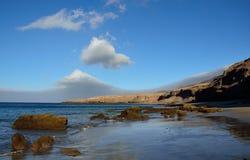Побережье Jandia, Фуэртевентуры, Канарских островов Стоковые Изображения RF