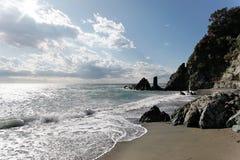 Побережье Mediterranian Стоковое Изображение RF