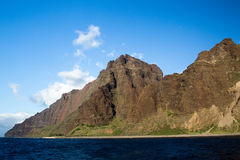 Побережье Na Pali, Кауаи, Гаваи Стоковые Изображения RF