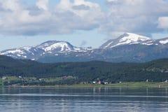 Побережье Norvegian Стоковое фото RF