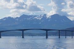 Побережье Norvegian Стоковые Изображения RF