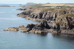 Побережье Pembrokeshire Стоковое Фото