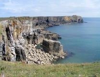 Побережье Pembrokeshire Стоковое Изображение RF