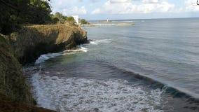 Побережье Punta Licosa акции видеоматериалы