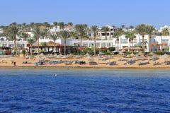 Побережье Sharm El Sheikh Стоковые Фото