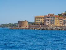 Побережье St Tropez, Франции стоковое фото rf