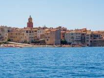 Побережье St Tropez, Франции стоковая фотография
