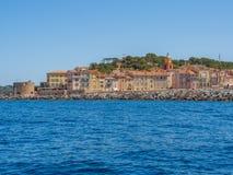 Побережье St Tropez, Франции стоковые фото