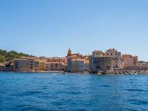 Побережье St Tropez стоковая фотография rf
