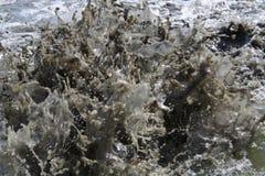 побеспокоенные воды Стоковое Фото