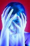 побеспокоенный подросток Стоковая Фотография RF
