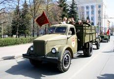 победа 2009 парадов Стоковые Изображения RF