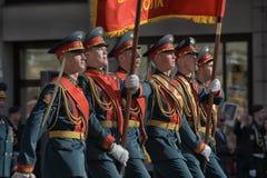 победа st petersburg парада Стоковое фото RF