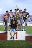 Победитель гонки - команда Дании Стоковая Фотография RF