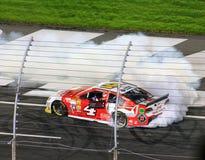 Победитель Государственного банка Америки 10-11-14 NASCAR Стоковое Изображение