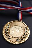 Золотая медаль бадминтона Стоковая Фотография