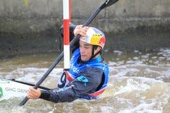 Победитель слалома воды - Vavrinec Hradilek Стоковые Фото