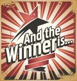 Победитель Стоковые Изображения RF
