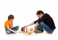 побитый шахмат Стоковые Изображения RF