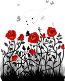 побудки красного цвета Стоковые Изображения