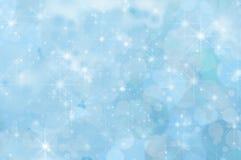Побледнейте - голубая абстрактная предпосылка звезды бесплатная иллюстрация