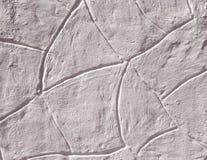 Побледнейте - розовая стена штукатурки стоковые изображения rf