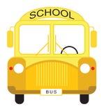 повезите школу на автобусе Стоковая Фотография